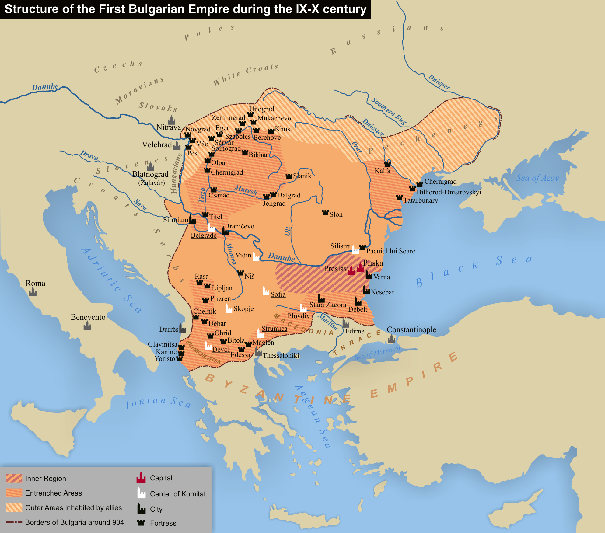 First Bulgarian Empire