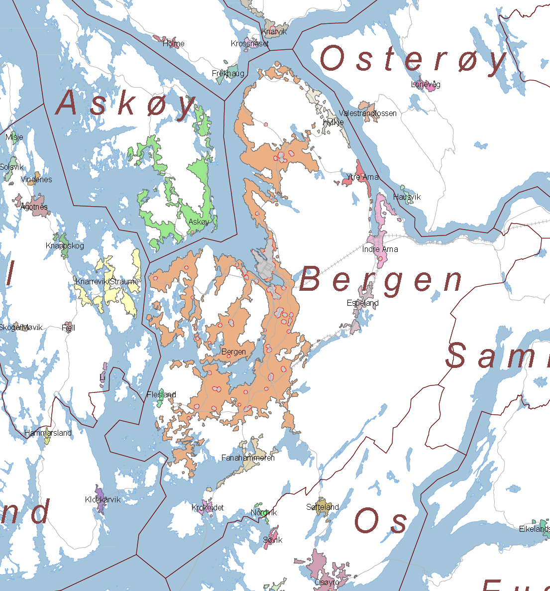Enorm Bergen (tettsted) – Wikipedia PQ-85