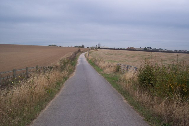 The Crab and Winkle Cycle path towards Whitstable - geograph.org.uk - 1520854