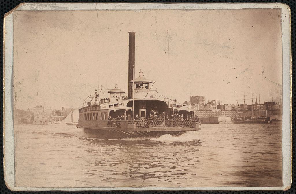 Image result for fulton ferry