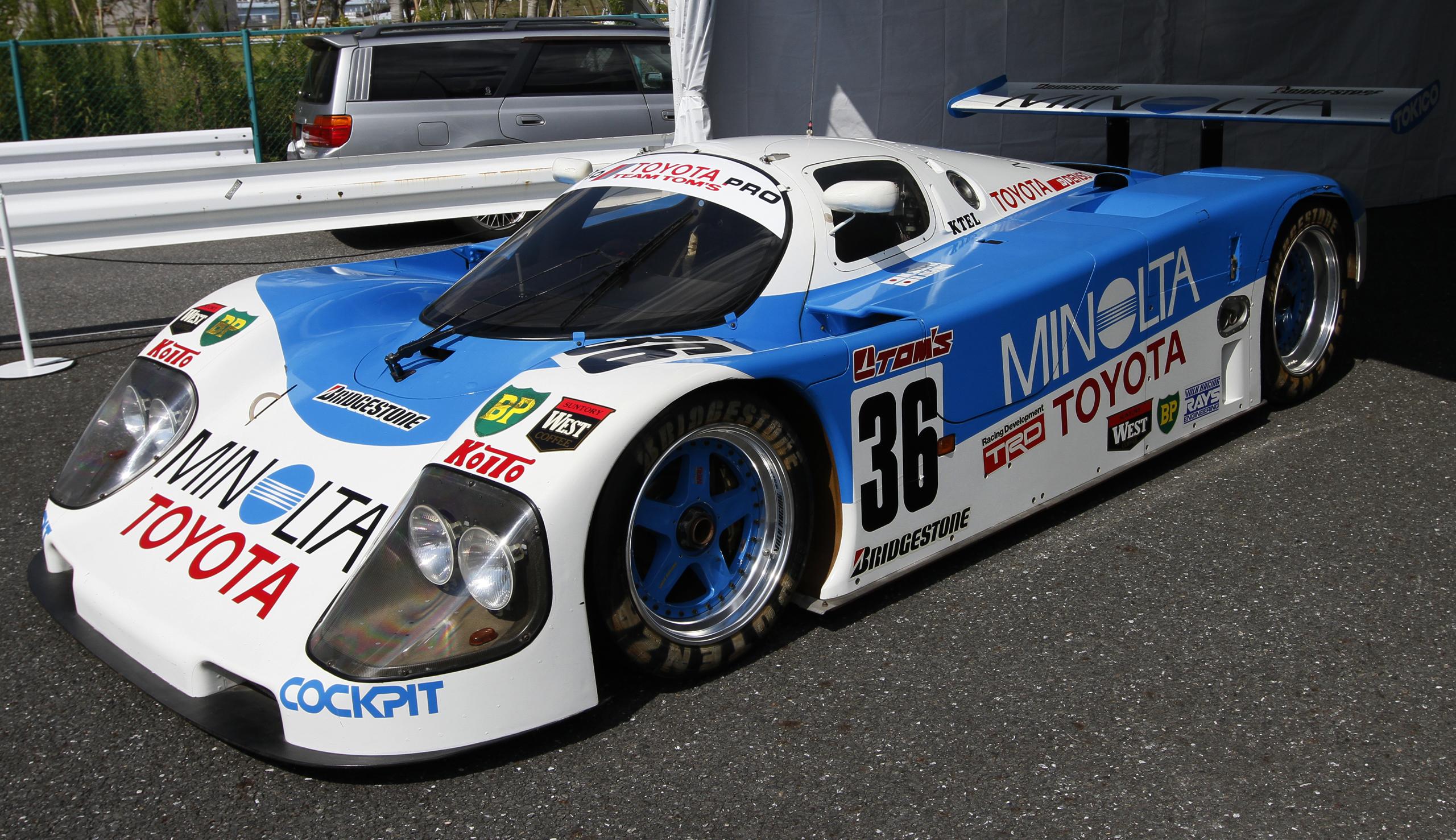 Toyota Race Cars >> Toyota 90c V Wikipedia