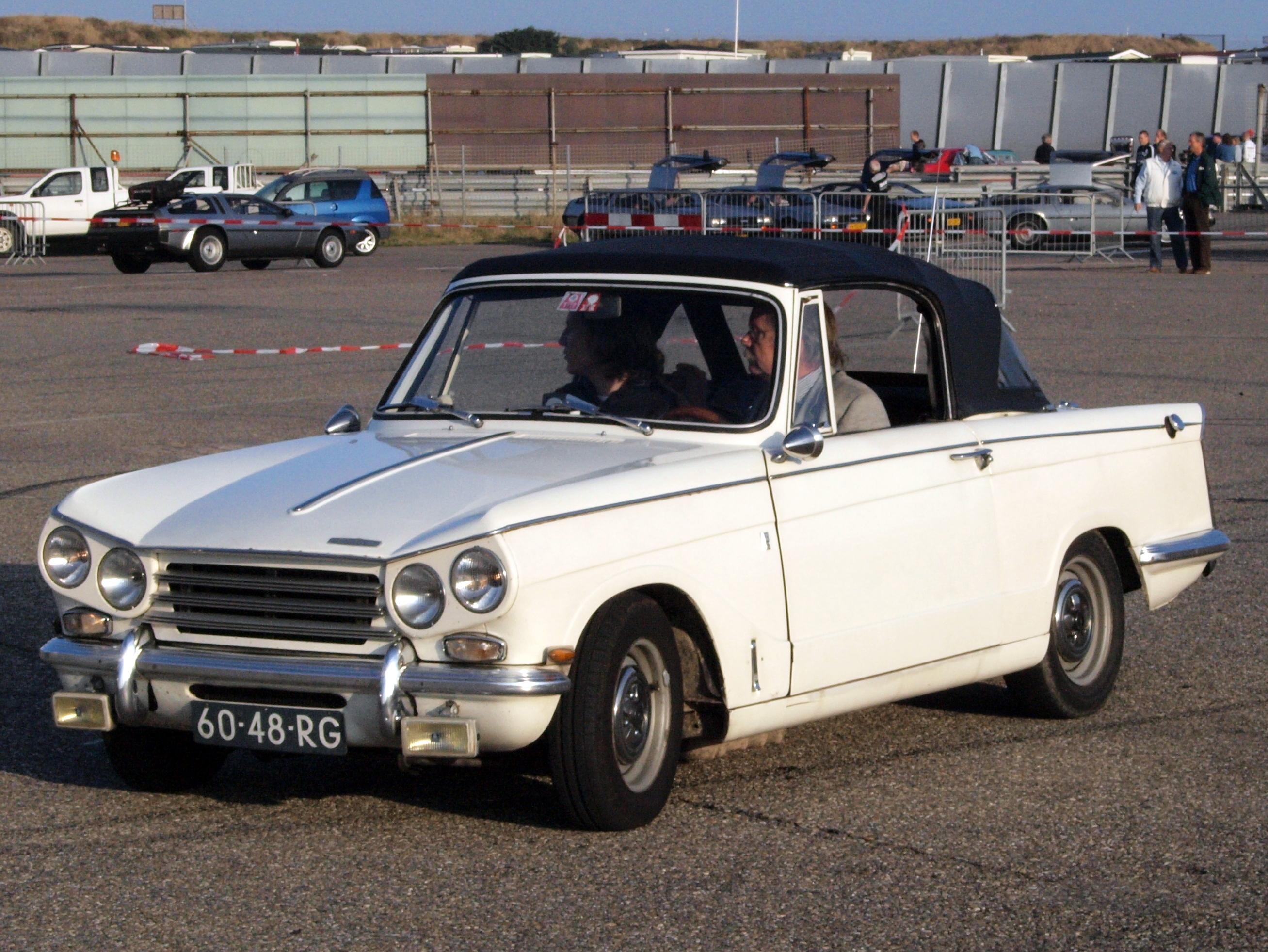File Triumph Vitesse 2 Liter Mk 2 Dutch Licence