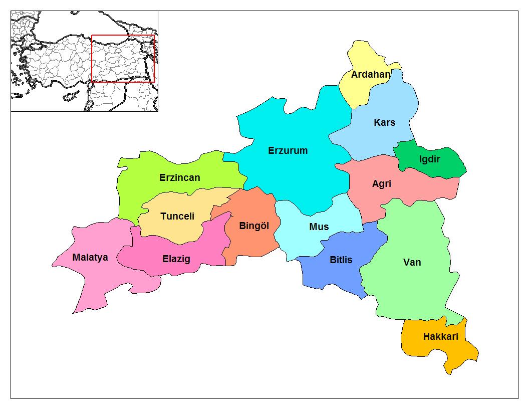Doğu Anadolu Coğrafyası