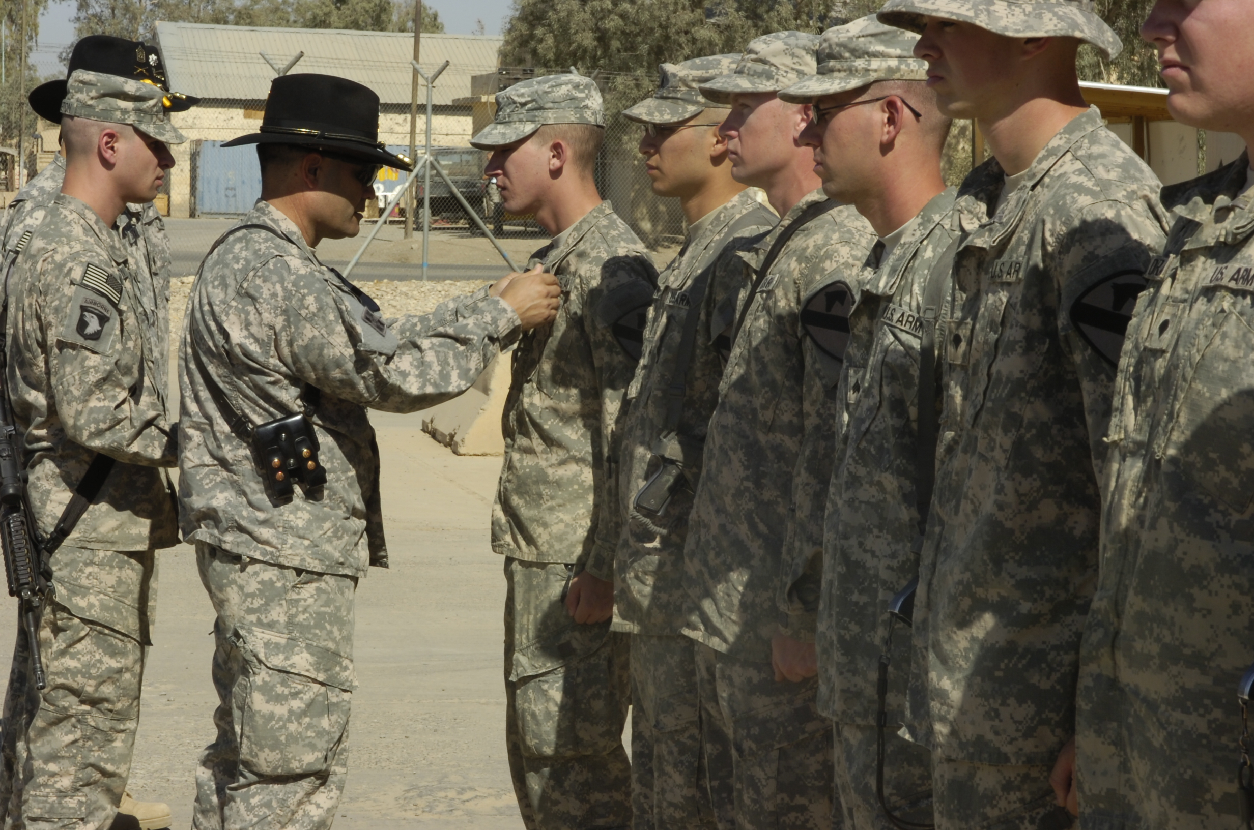 File:US Army 52521 Col. Ryan Gonsalves, brigade commander of the ...
