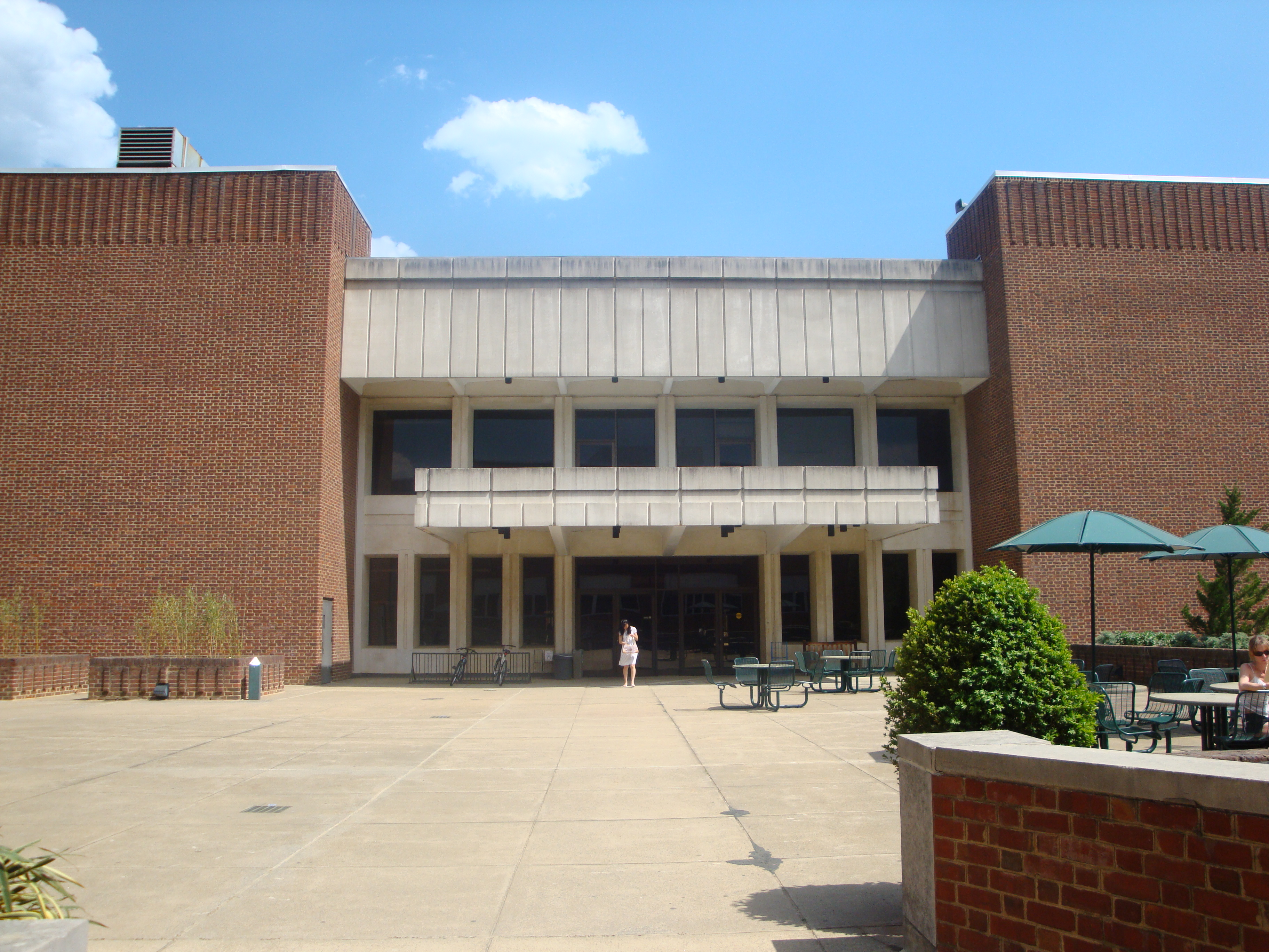 This is the Chemistry Building at UVA