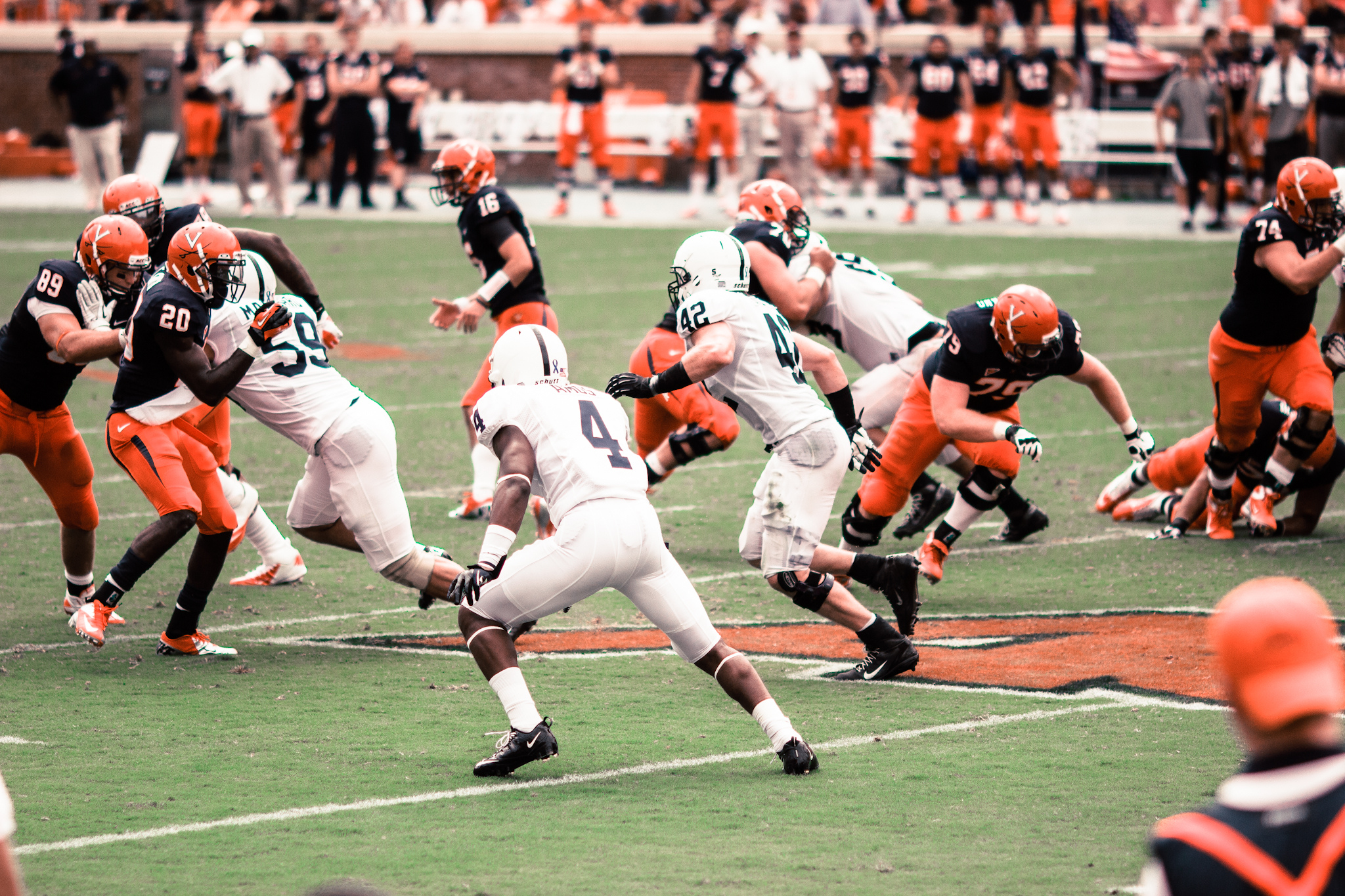 Carl Nassib Penn State Nittany Lions Football Jersey Navy