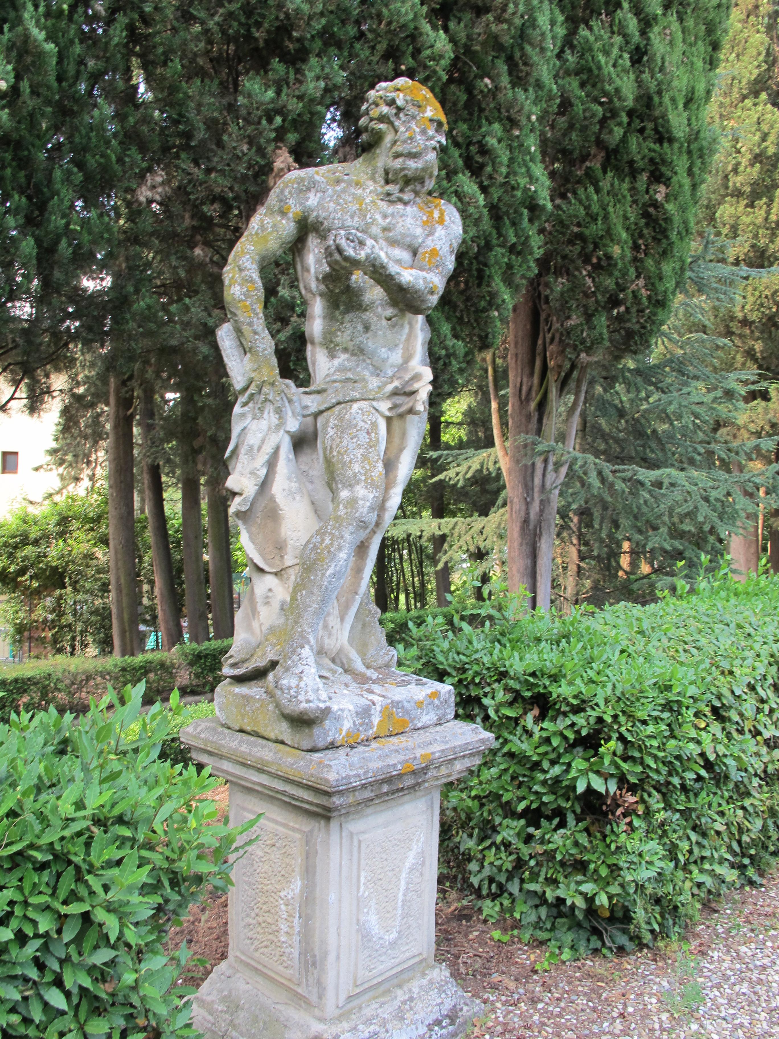File:Villa schifanoia, giardino, terza terrazza, statua 02.JPG ...