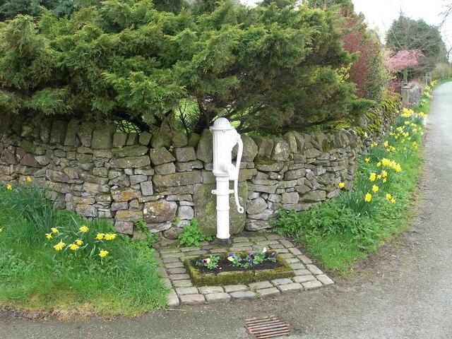 Village Pump Alstonefield - geograph.org.uk - 1256531