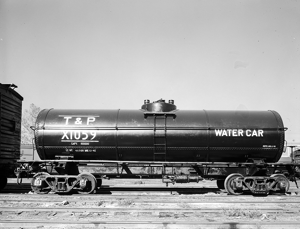 File:Water Car X1059, Texas and Pacific Railway Company ... Pacific Railway Company