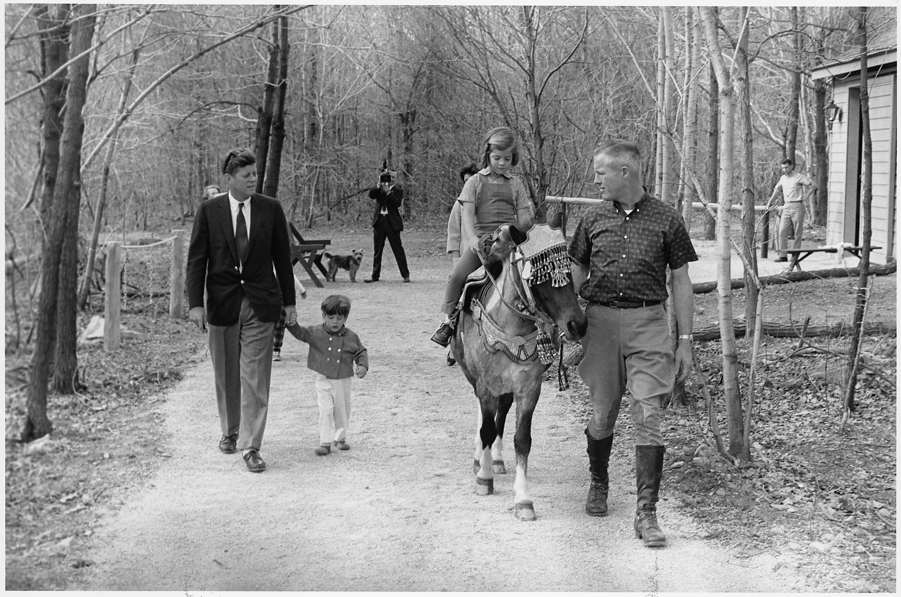 Kennedy Camelot File Weekend At Camp David President Kennedy John F