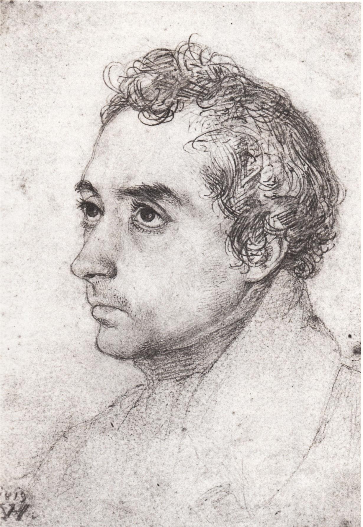 Datei Wilhelm Hensel Clemens Brentano 1819 –