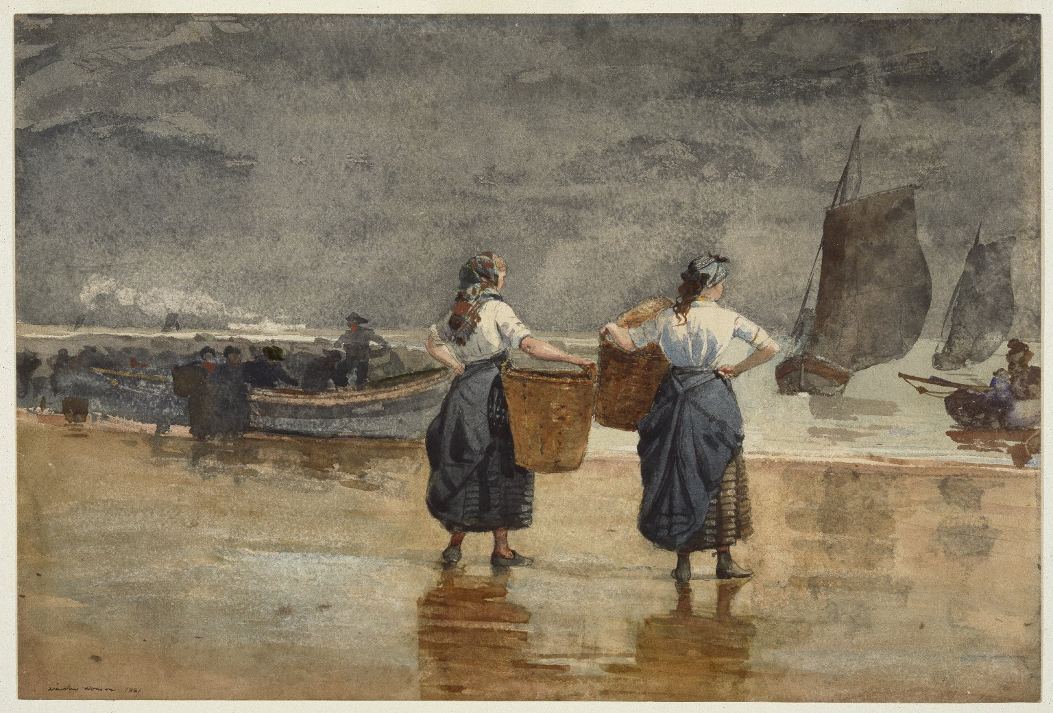 Image result for winslow homer cullercoats
