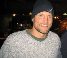 Woody Harrelson, an American actor.