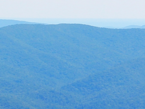 Young Lick viewed from Brasstown Bald