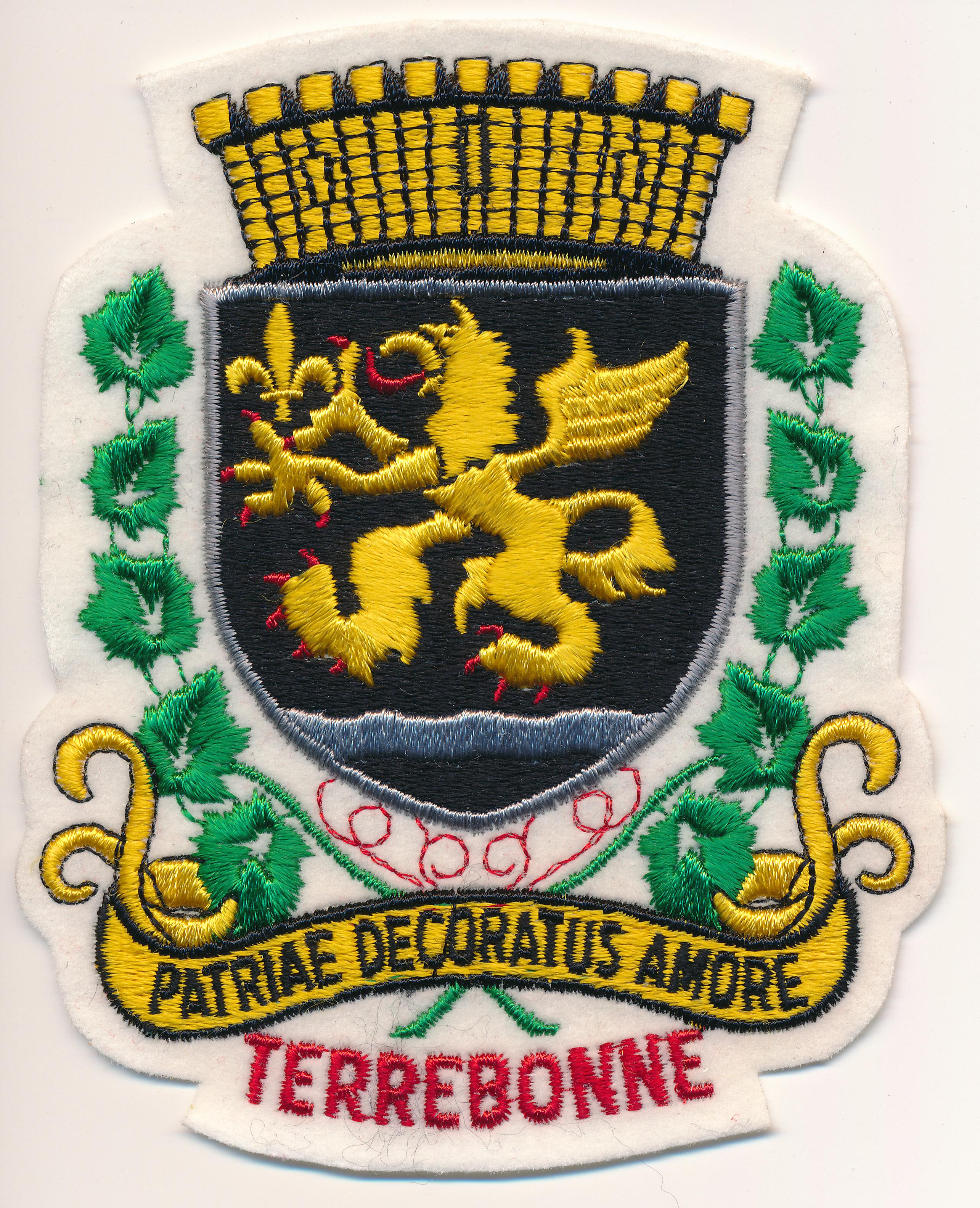 File:Écusson de police représentant les armoiries de Terrebonne.jpg ...