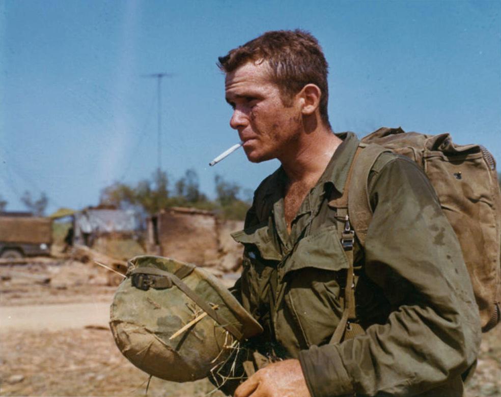 Soldat der 101. Luftlande-Division