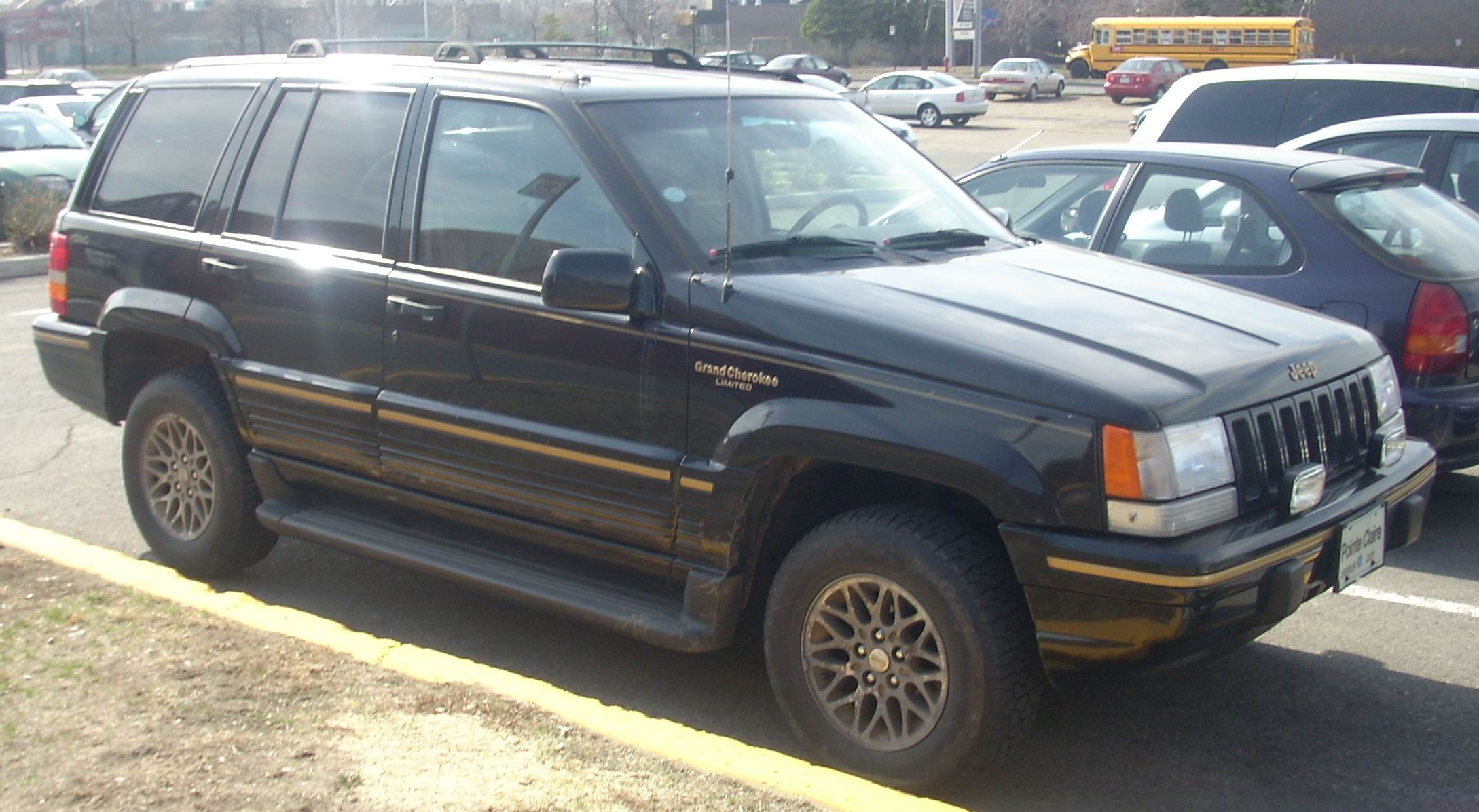 file 1993 95 jeep grand cherokee limited jpg wikimedia. Cars Review. Best American Auto & Cars Review
