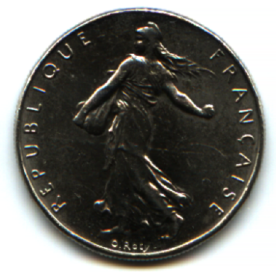 File:1 franc 1999 2.png