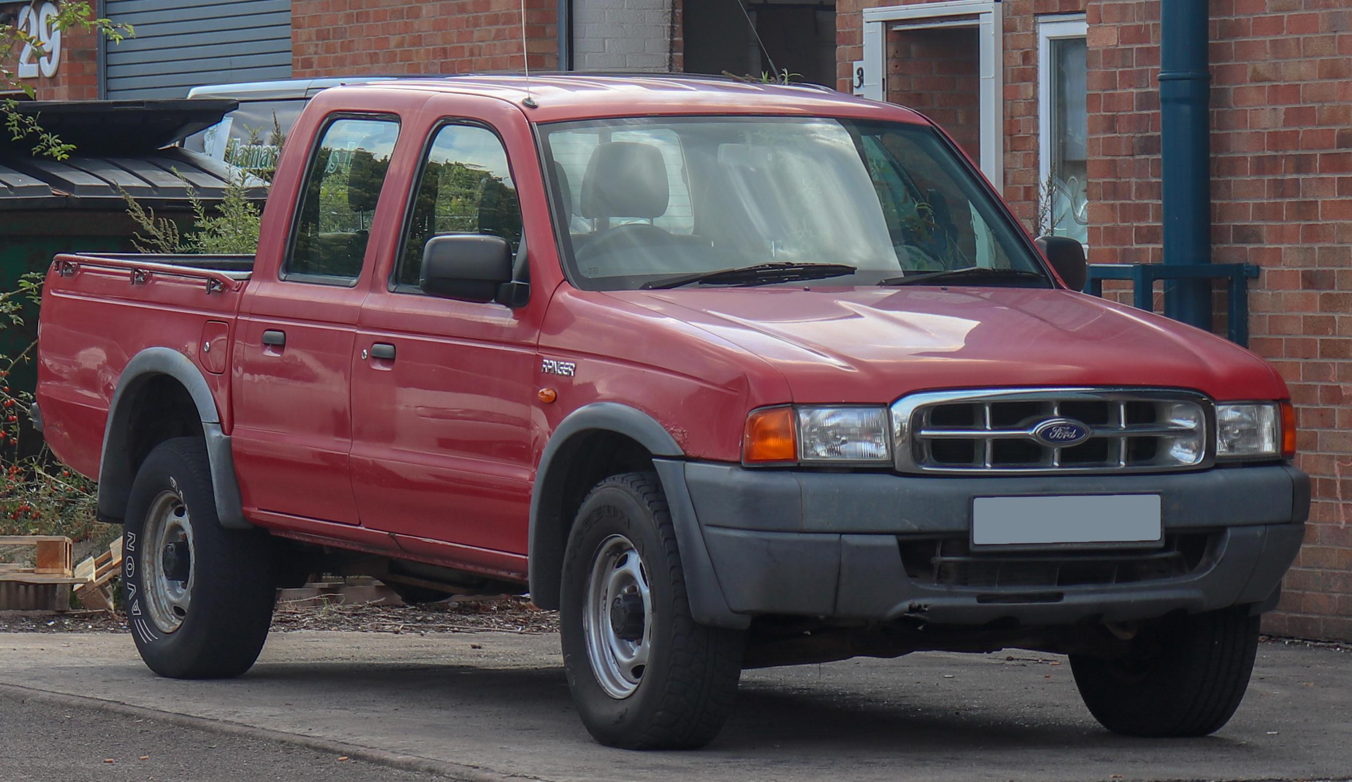 Ford Ranger Diesel >> Berkas 2001 Ford Ranger 4x4 Turbo Diesel 2 5 Jpg Wikipedia