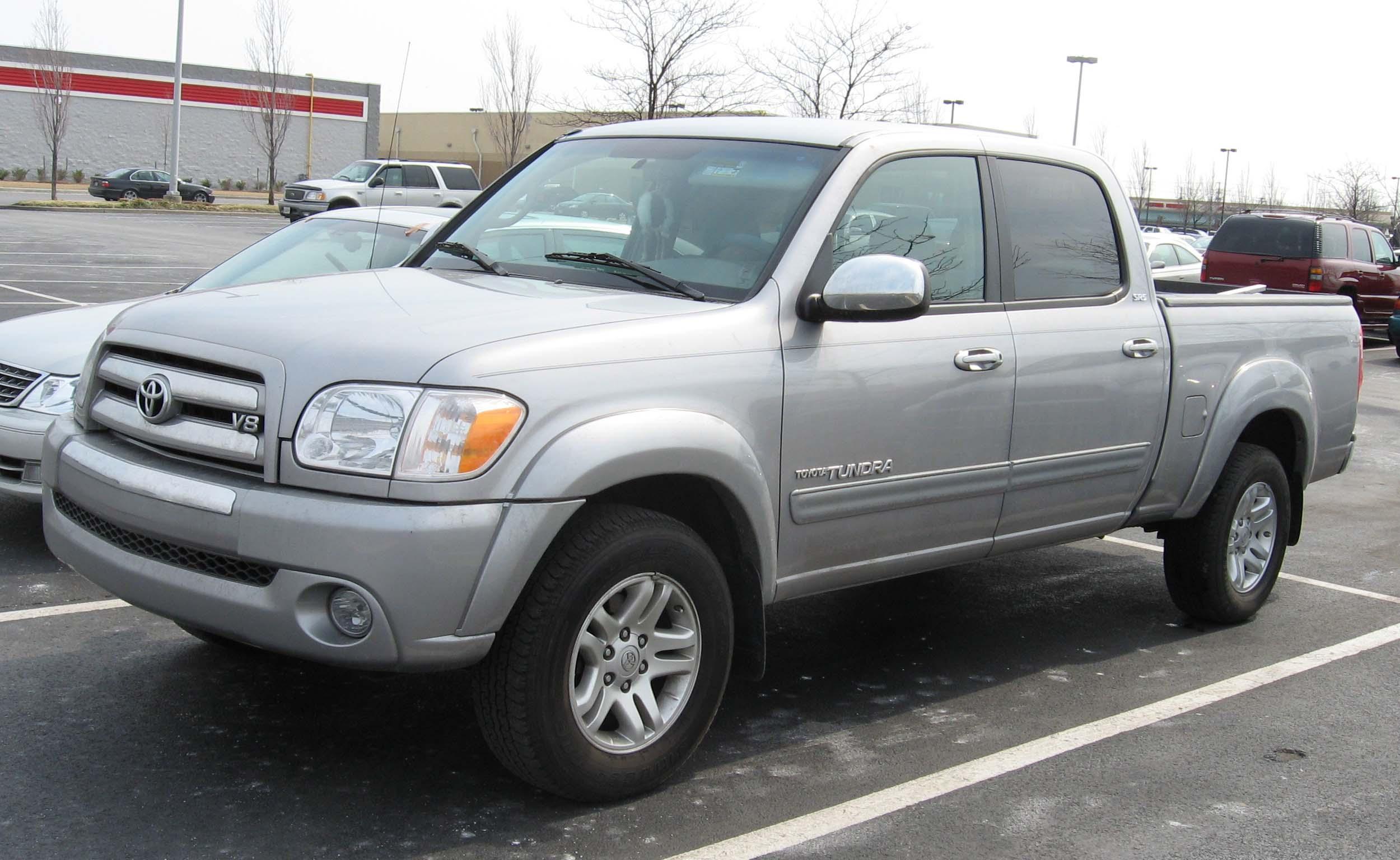 2007 Toyota Tundra Regular Cab >> File:2004-2006 Toyota Tundra DoubleCab.jpg - Wikimedia Commons