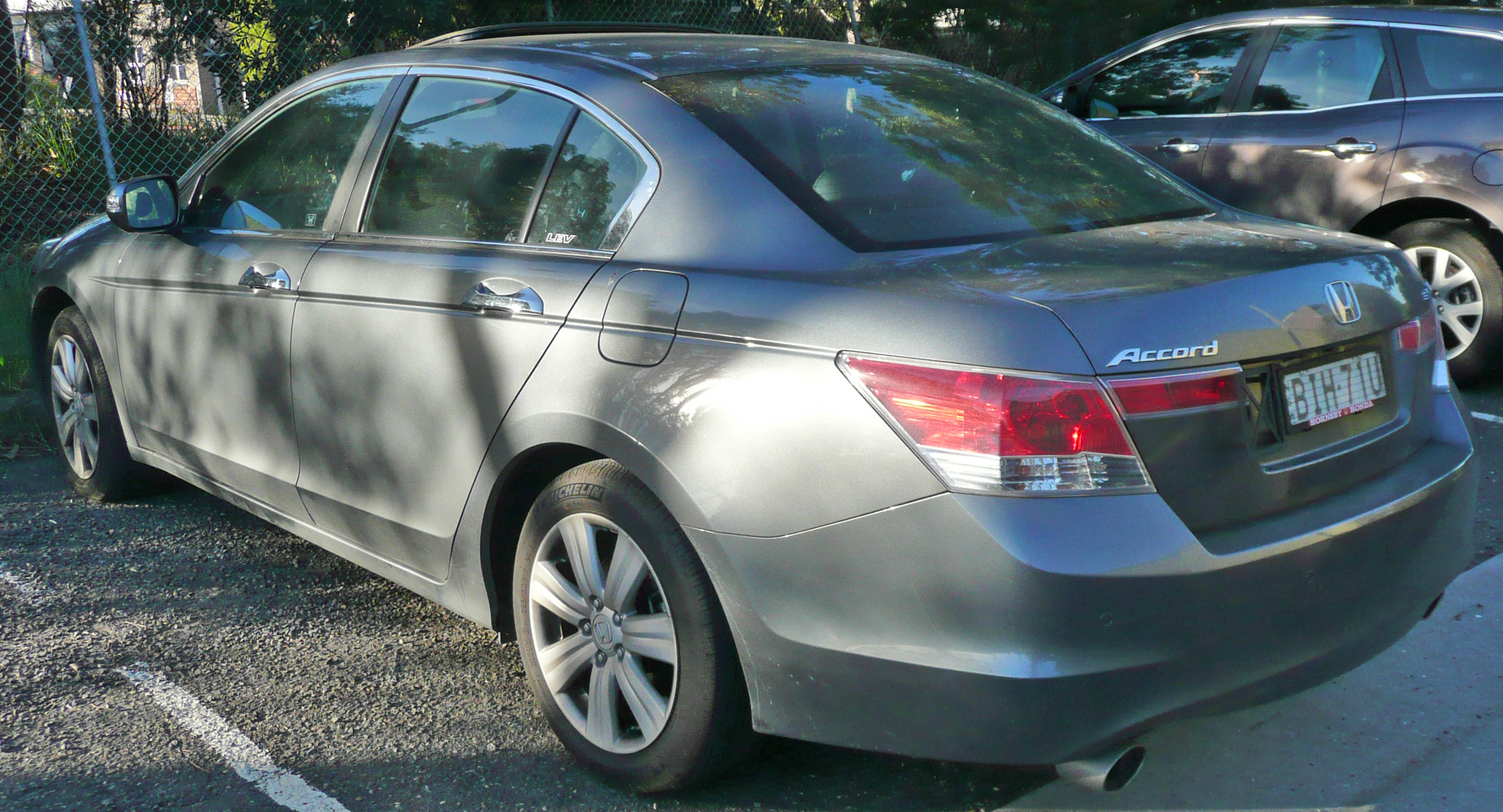 File 2008 2009 Honda Accord Cp3 V6 Luxury Sedan 01 Jpg Wikimedia