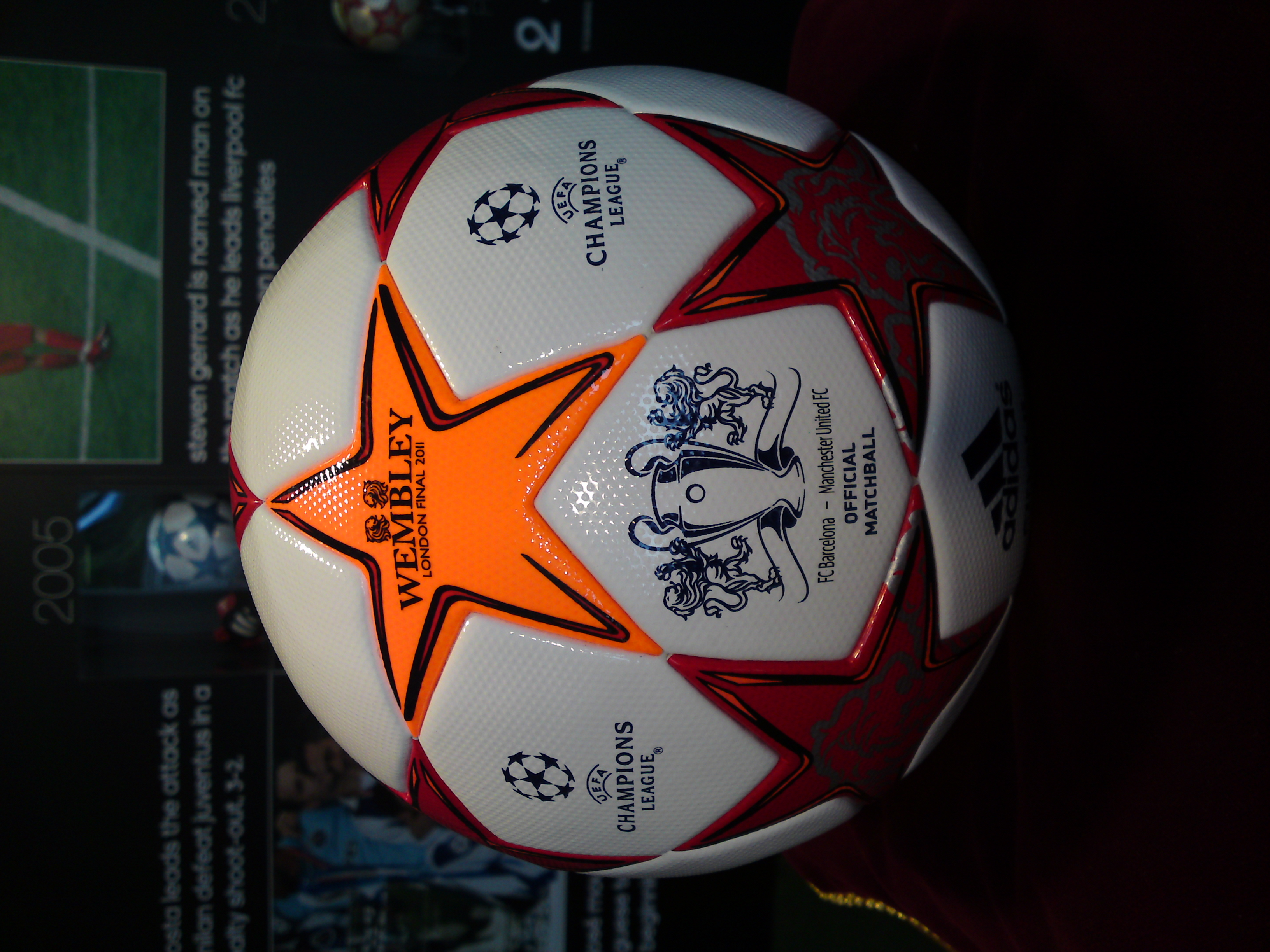 UEFA Picture: The Gallery For --> Uefa Champions League Ball 2011