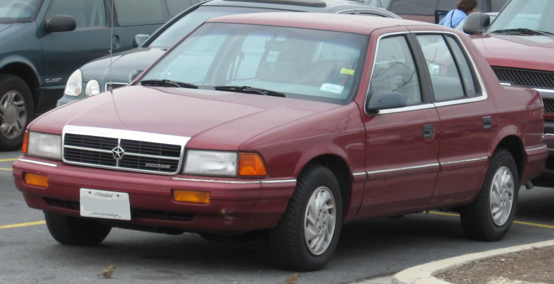 Dodge Spirit on 1994 Dodge Stratus