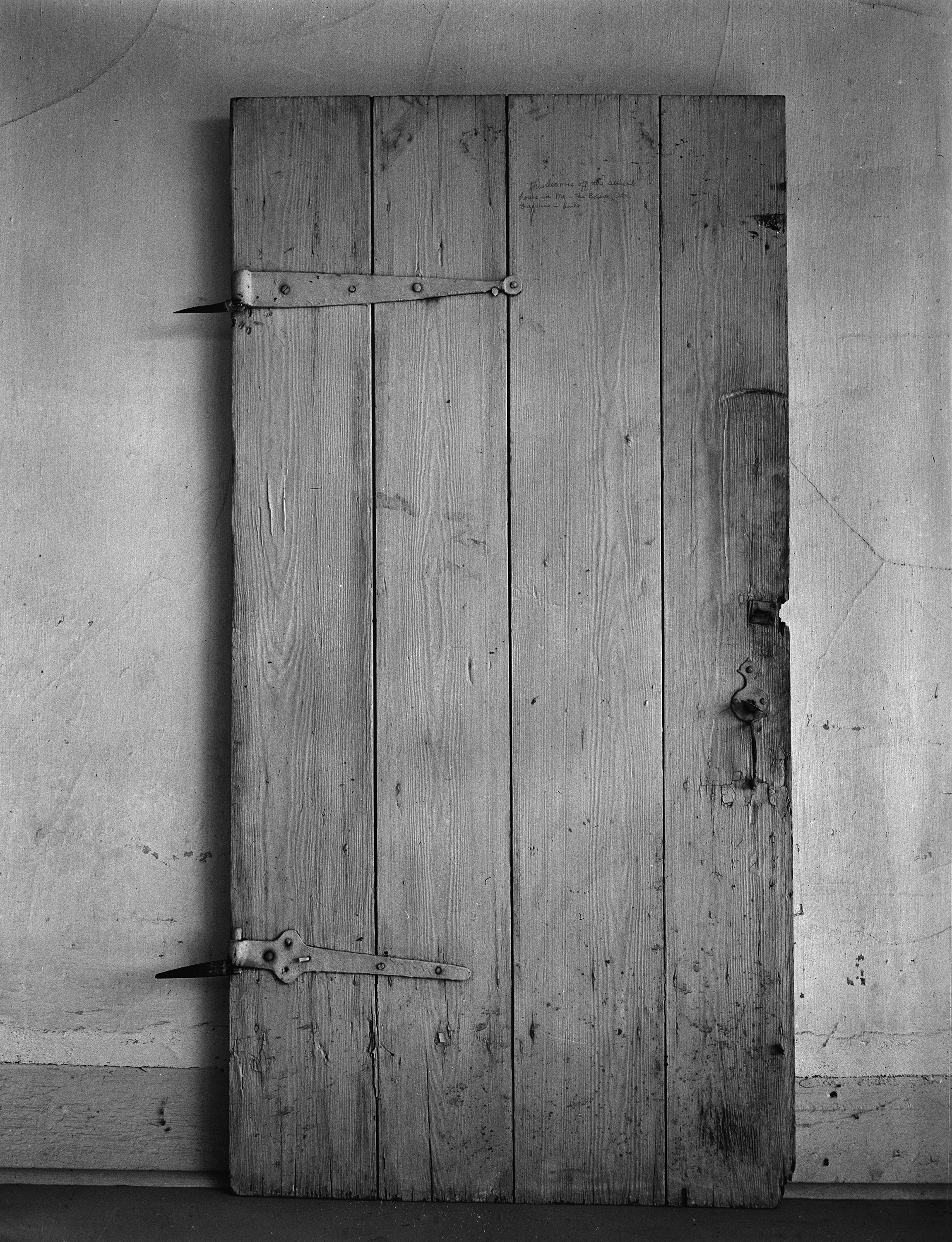 File a photograph of an original door from the bolduc for House door image