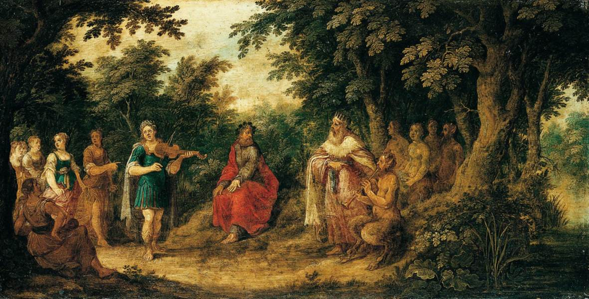 Abraham Govaerts - The Judgement of Midas - WGA9978