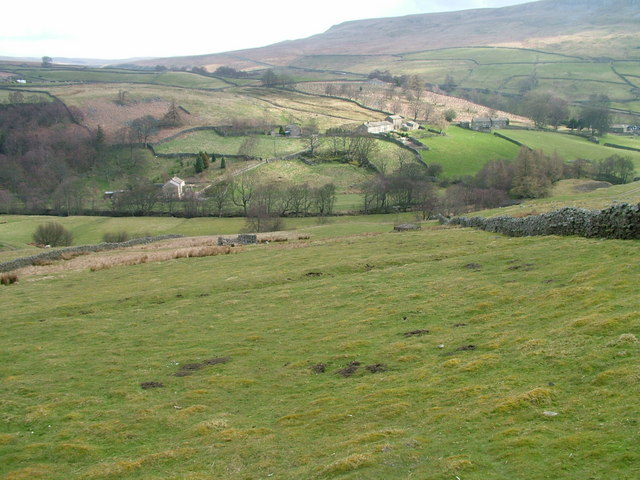 Across the dale to Eskaleth - geograph.org.uk - 769890