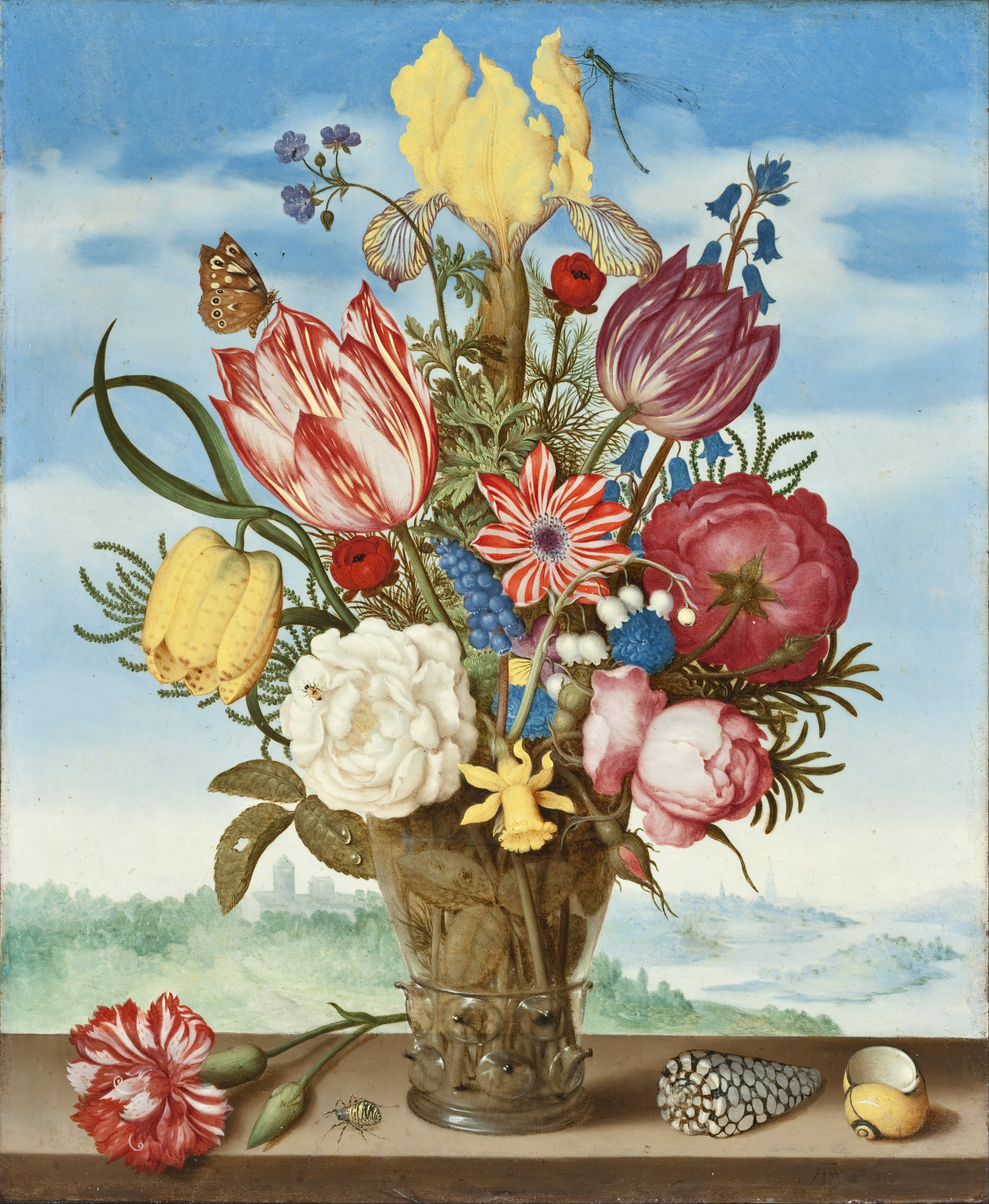file ambrosius bosschaert bouquet of flowers on a ledge google