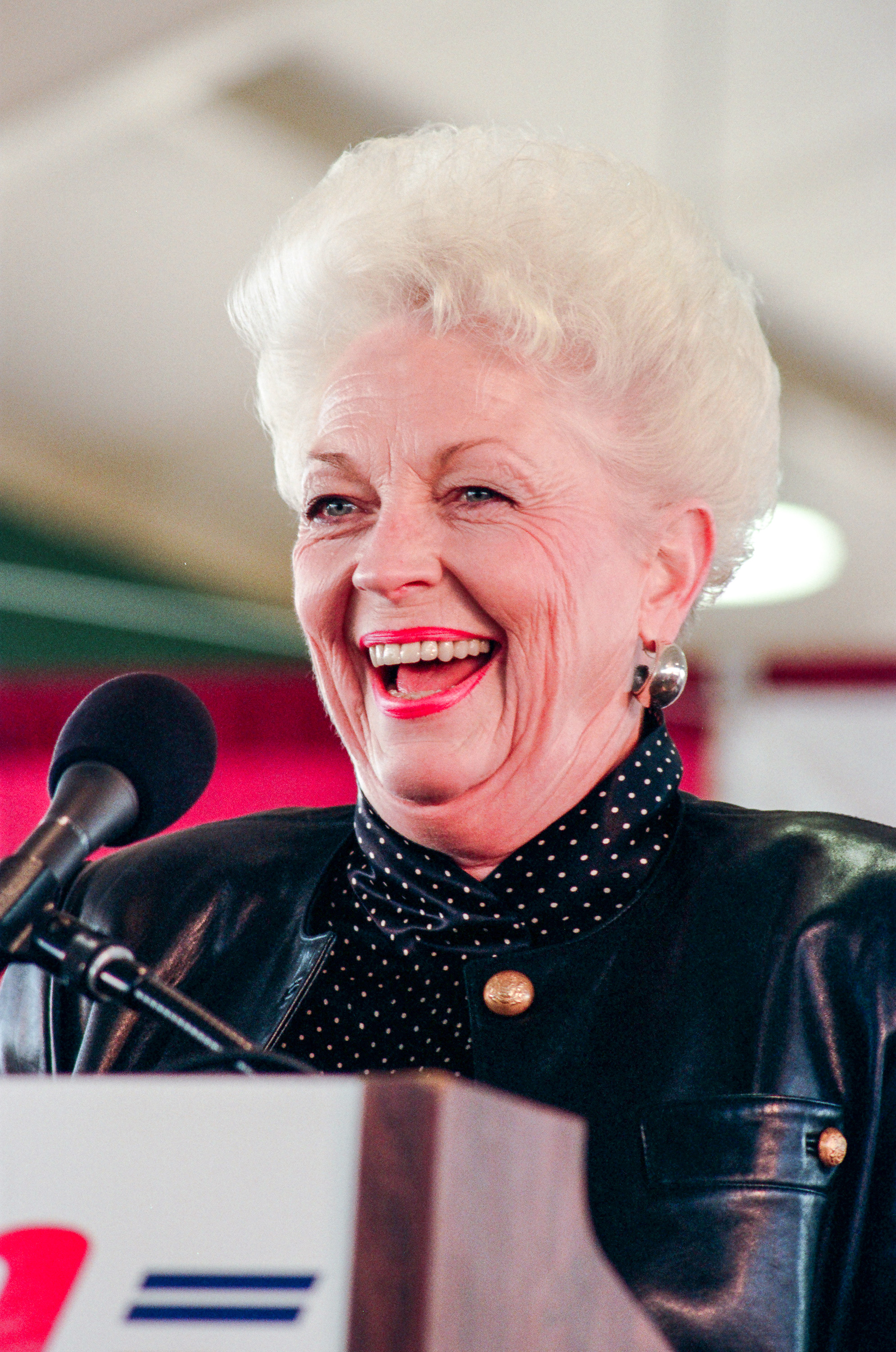ann richards Written by holland taylor, ann reprises the life of ann richards, the silver-haired,  straight-shooting democrat who wowed listeners at the 1988.
