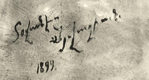 Подпись на армянском— Ованес Айвазян