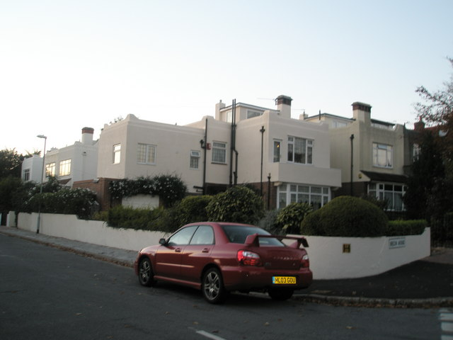 File:Art deco style house in Lampeter Avenue - geograph.org.uk