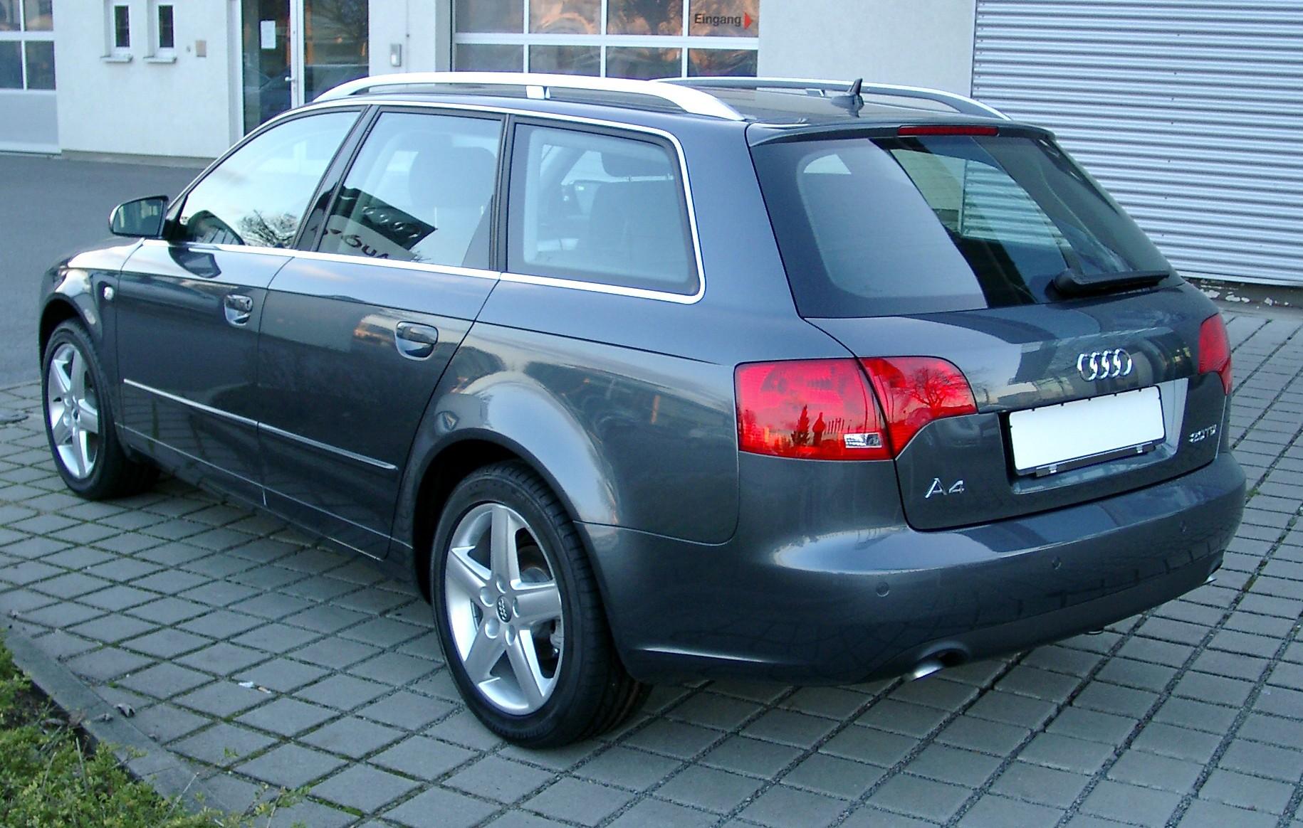Audi a4 avant rear 20071215 jpg
