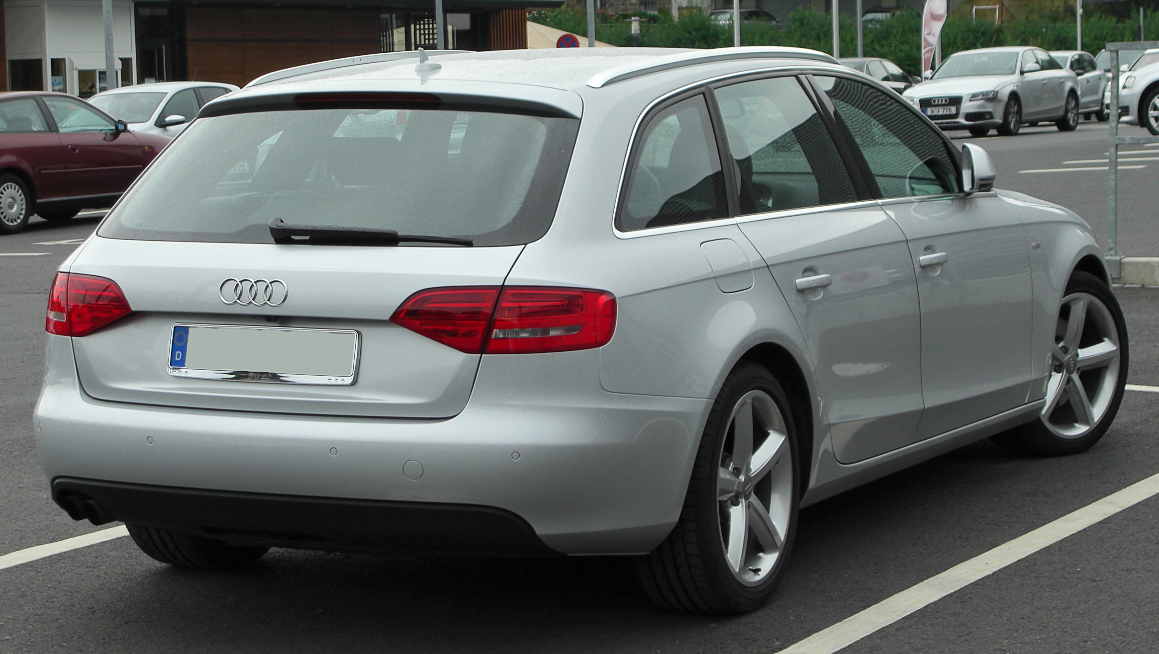 File Audi A4 B8 Avant Rear 20100725 Jpg Wikimedia Commons