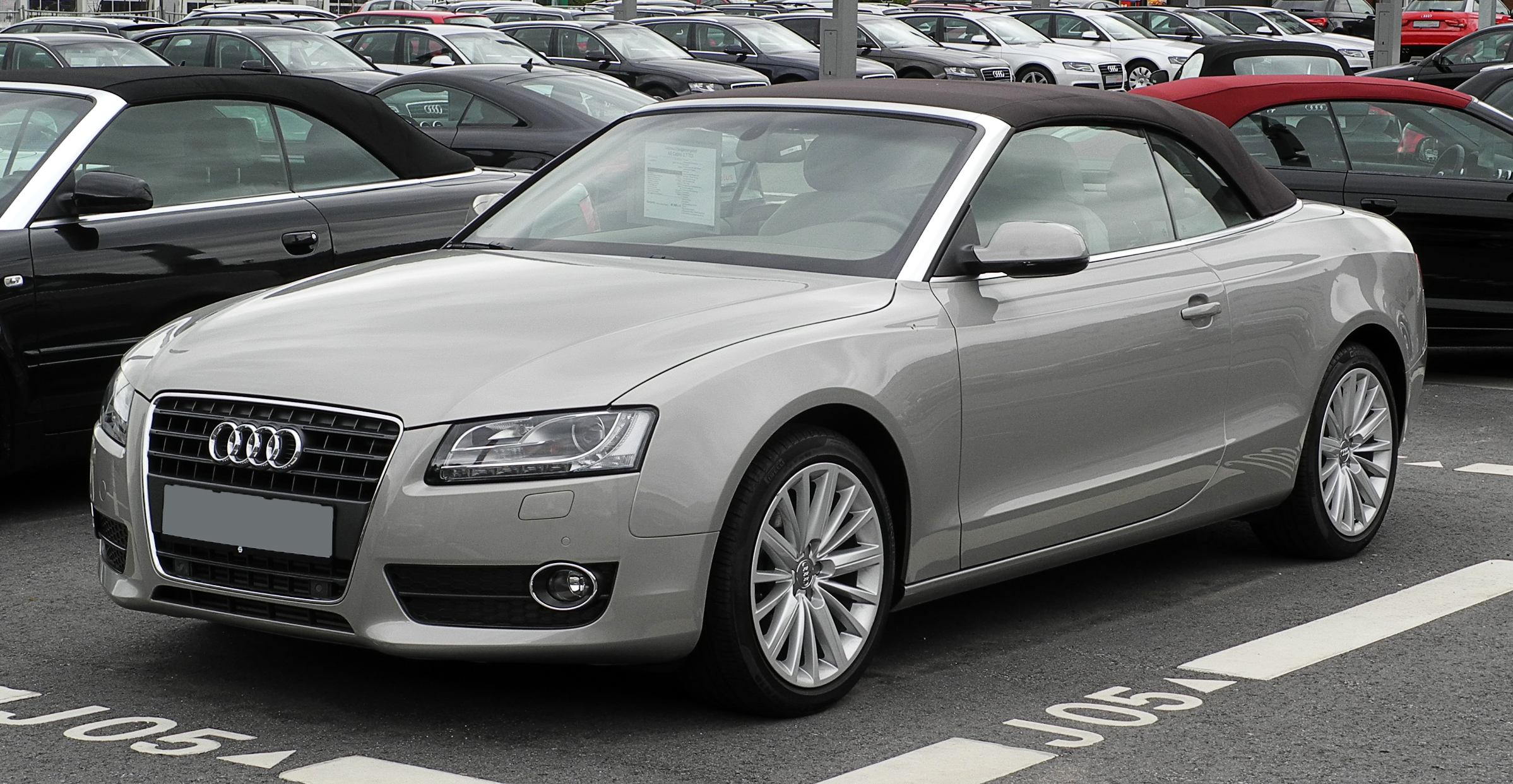 File Audi A5 Cabriolet 2 7 Tdi Frontansicht 13 Juni