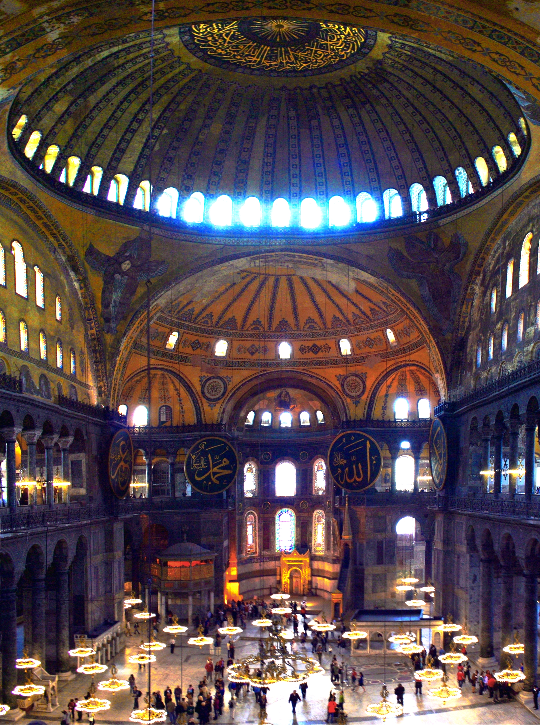 File:Aya Sofya Interior.jpg - Wikimedia Commons