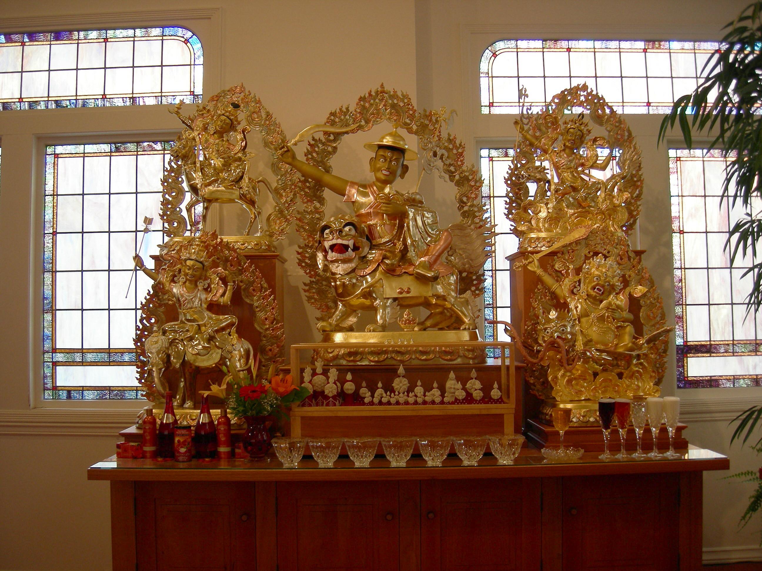 Shugden Statue Statue of Dorje Shugden
