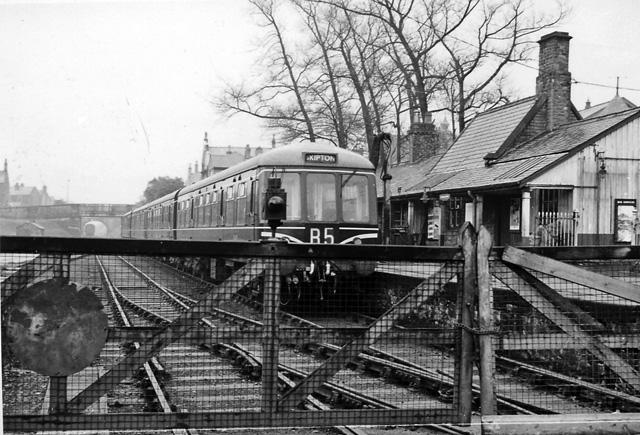Rail Photo LMS MR Earby station Lancashire Pendle foulridge Thornton in Craven