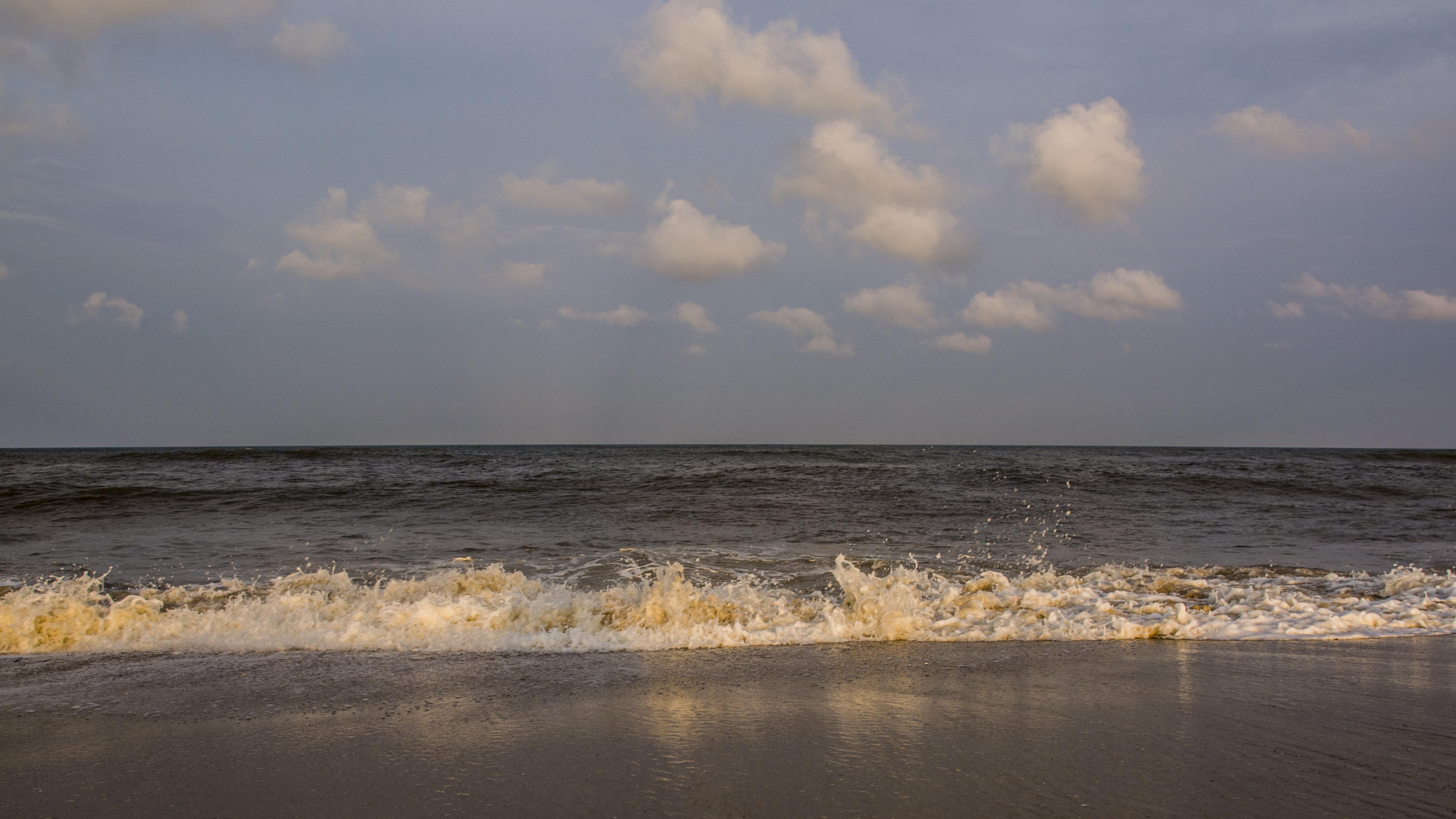 File Beach At Waves Nc Jpg