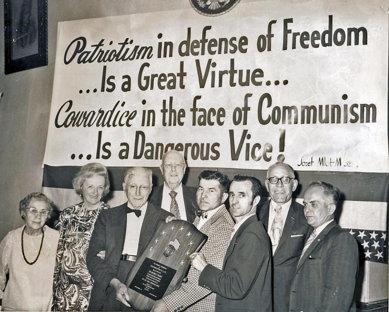 File:Benjamin Freedman Service Award Polish Freedom Fighters 1972