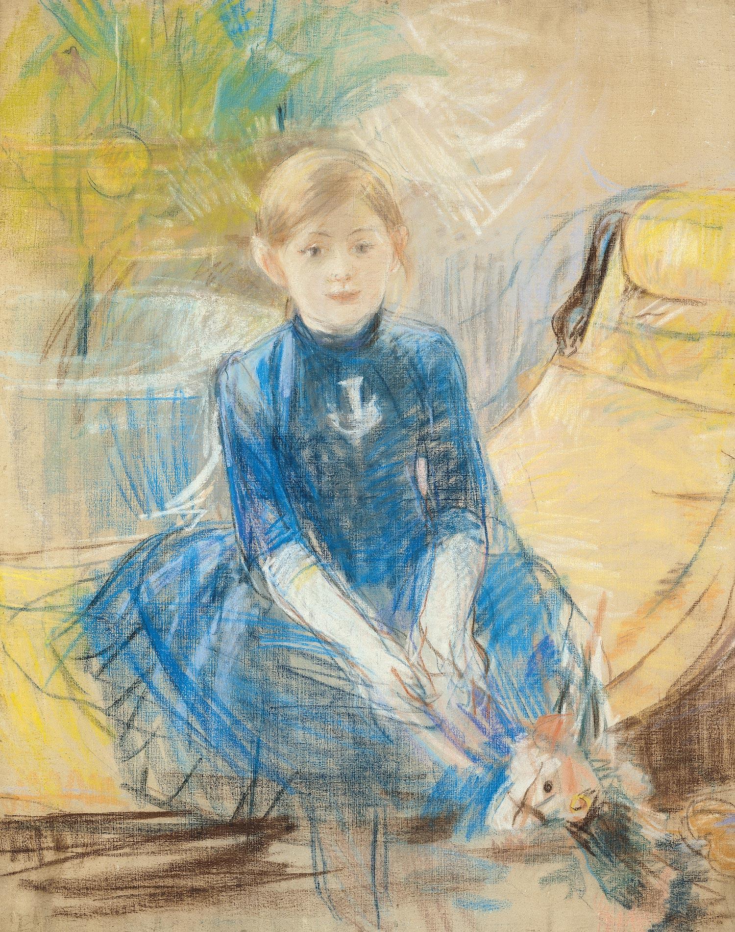 File:Berthe Morisot - Fillette au jersey bleu - Musée Marmottan-Monet.jpg -  Wikimedia Commons