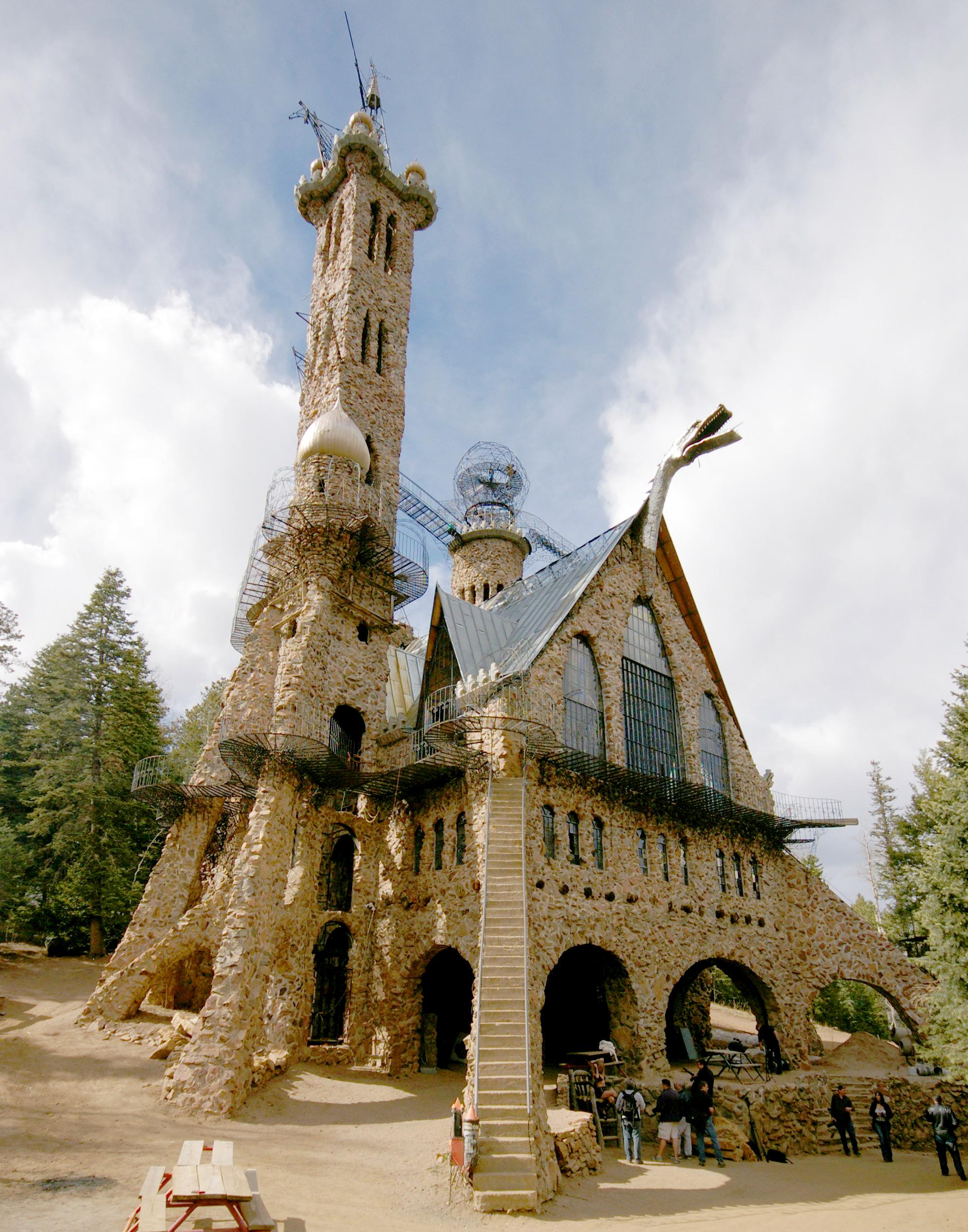 bishop castle colorado usa edifici strani