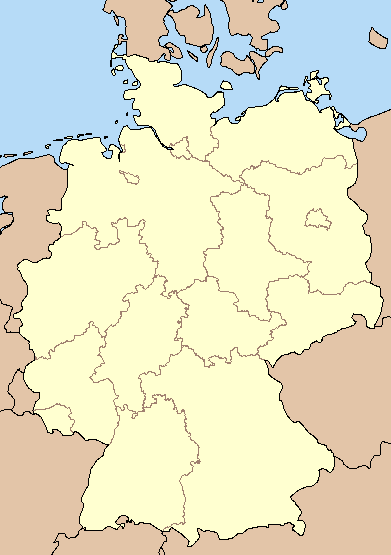 File:Blank Map Germany States.png - Wikimedia Commons