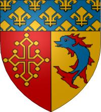 Blason des Hautes-Alpes - Escut occitan dels Auts Aups