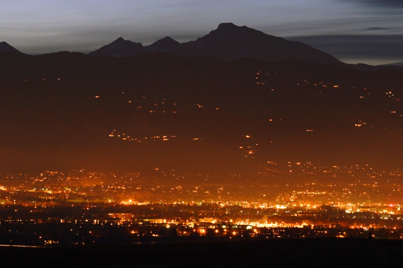 File:Boulder CO at twilight.jpg
