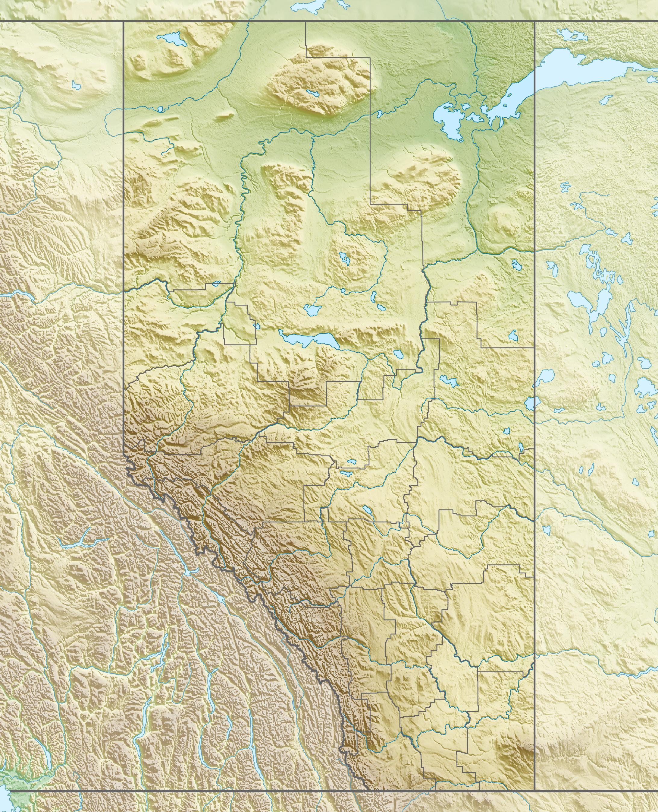 Datei:Canada Alberta relief location map.jpg – Wikipedia