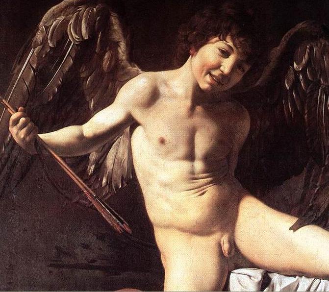 Caravaggio - Amor Vincit - detail