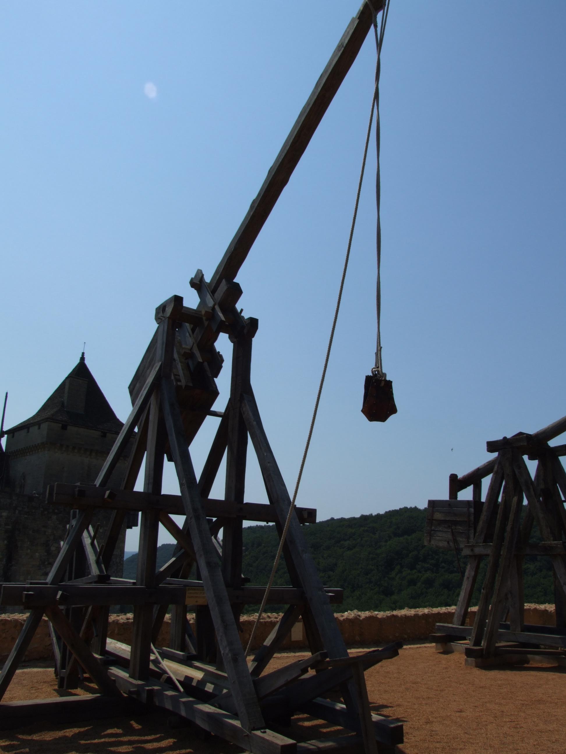 Description castelnaud-la-chapelle - machines de guerre 2